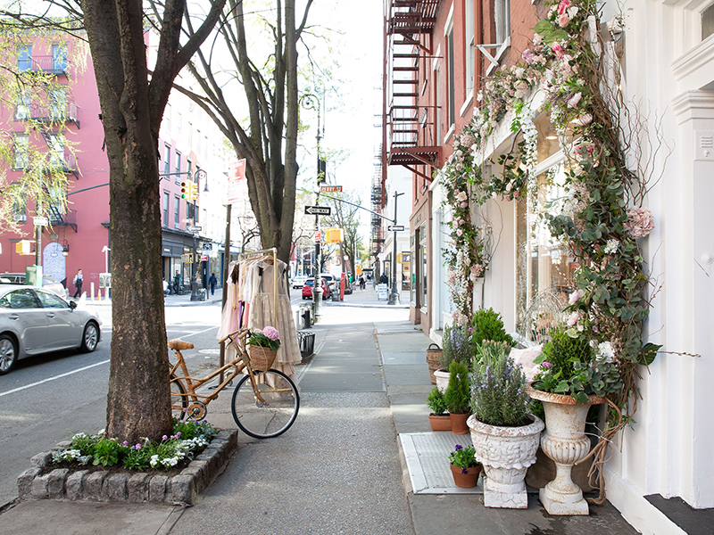 LoveShackFancy on Bleecker Street, NYC