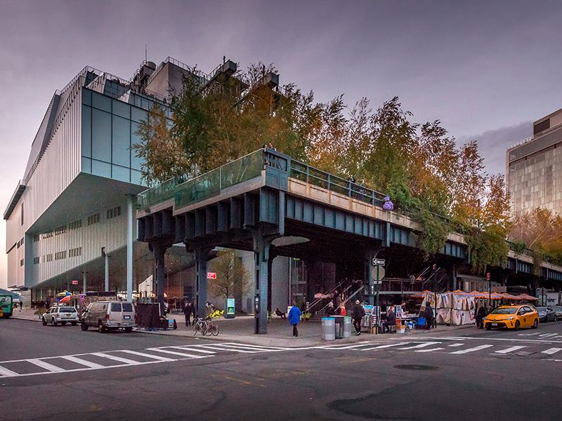 The Whitney Museum of Art, West Vilage, New York