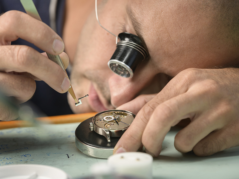 Assembly of the Greubel Forsey QP watch