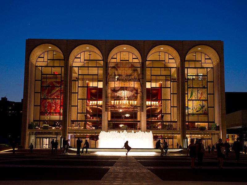 The Metropolitan Opera House, NYC