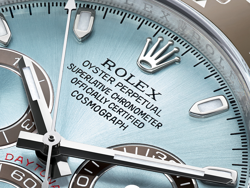 The Rolex Oyster watch