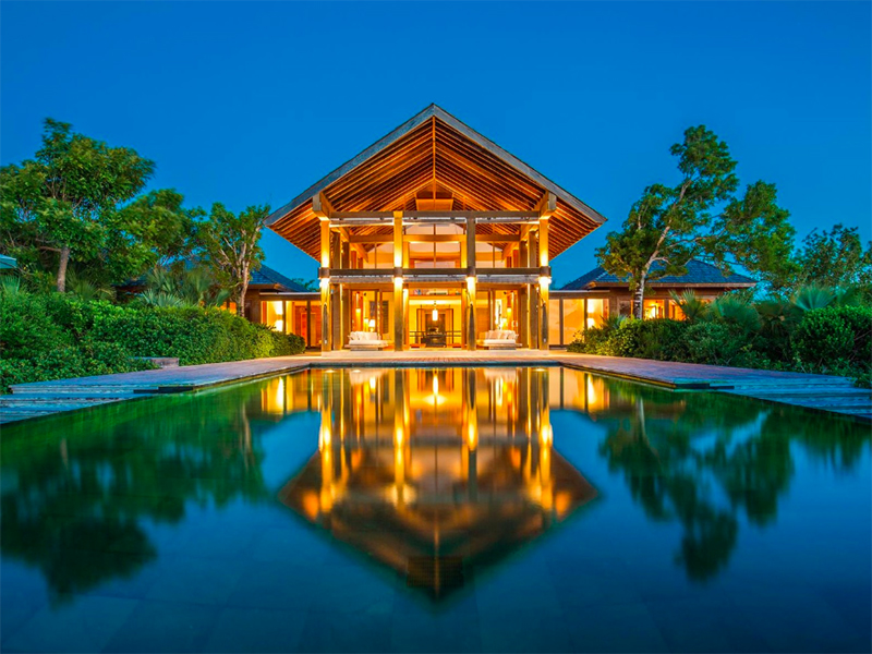 Point House in the Turks and Caicos Islands