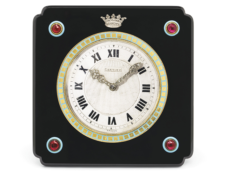 A mystery clock gifted to the Duke and Duchess of Westminster in 1930