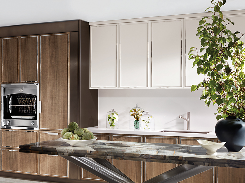 A kitchen featuring St Charles Collection No 1