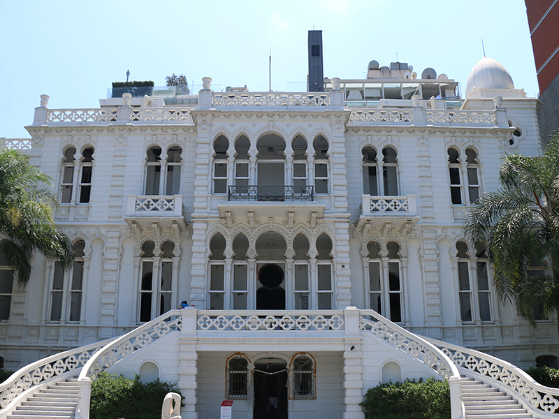 The Sursock Museum in Lebanon