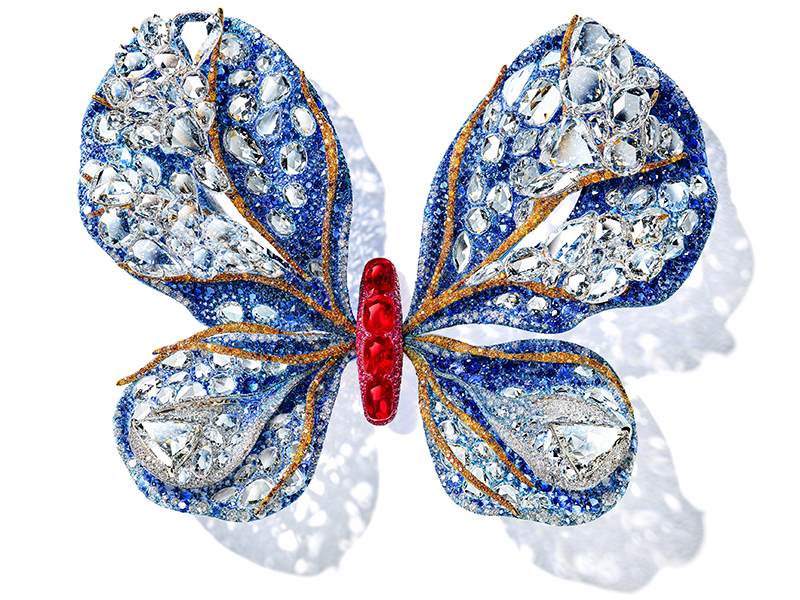 Cindy Chao's Aurora butterfly brooch