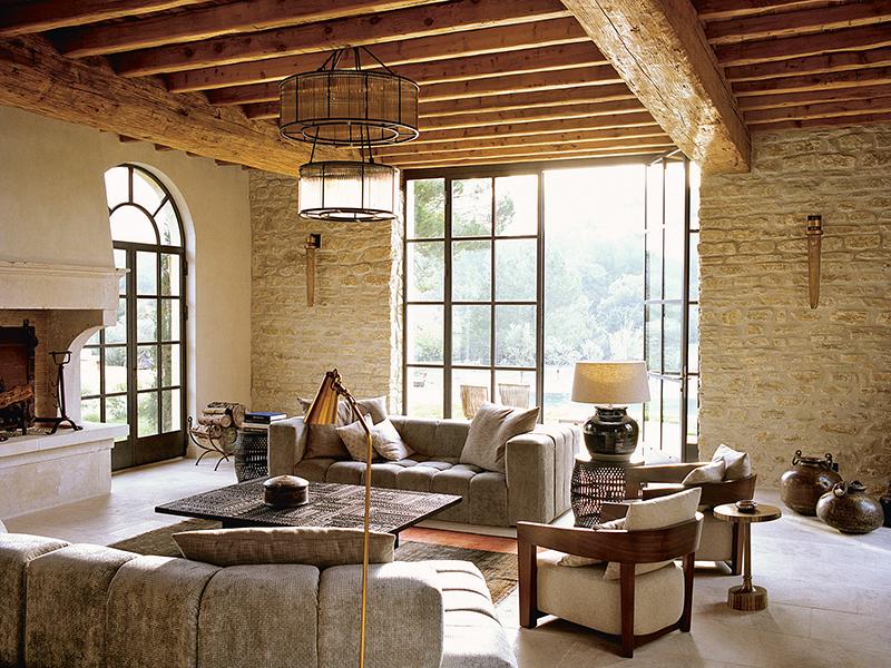 La Bastide de Fléchon's living room