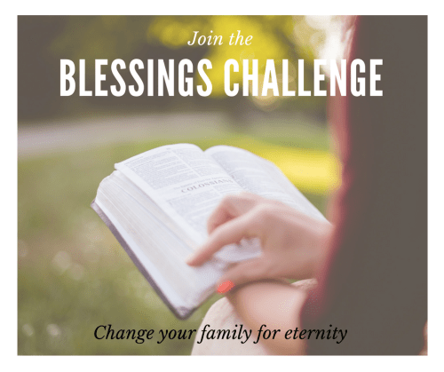 Blessings Challenge