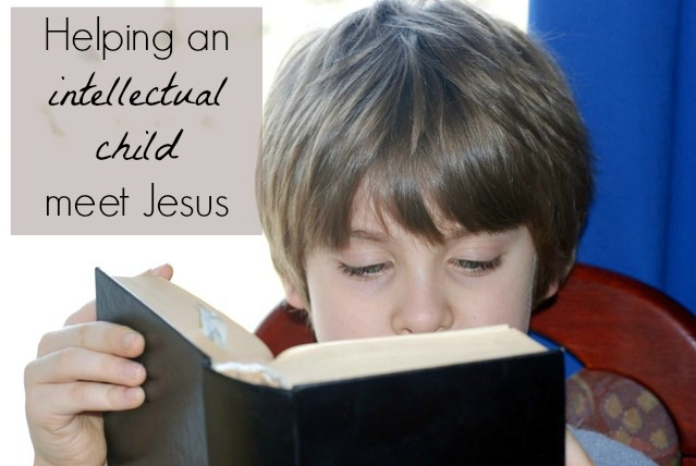 5 ways to help an intellectual child grow in faith