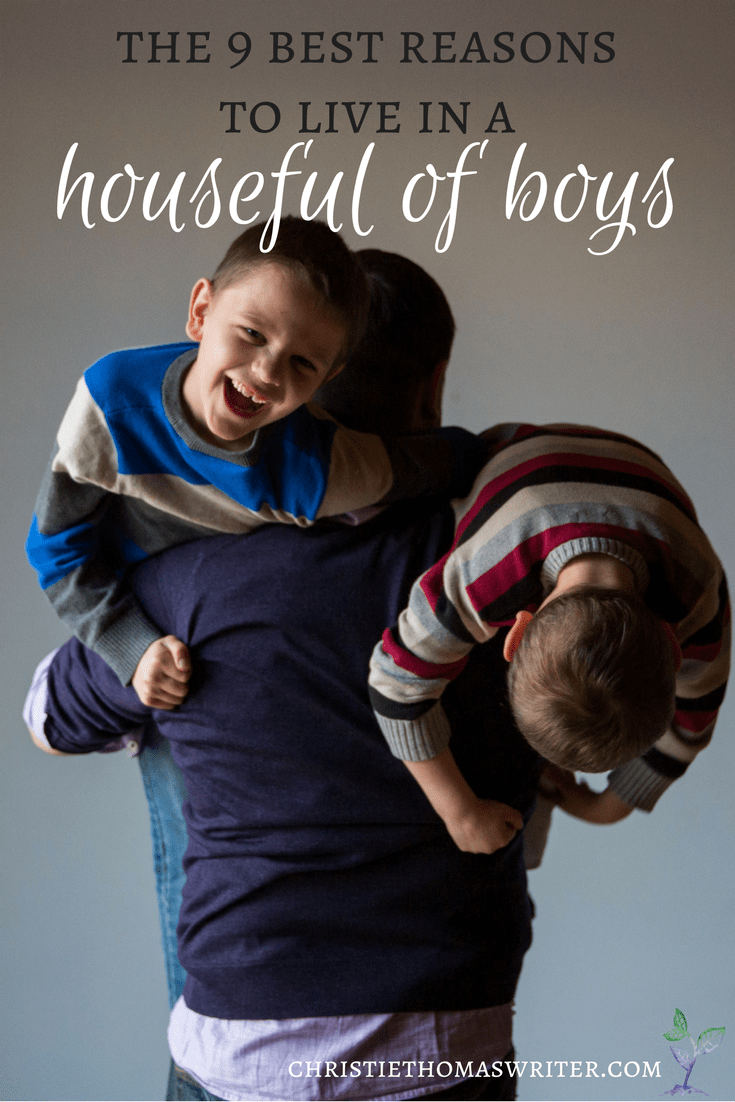 The 9 best reasons to live in a  houseful of boys: parenting humor for the hard days!