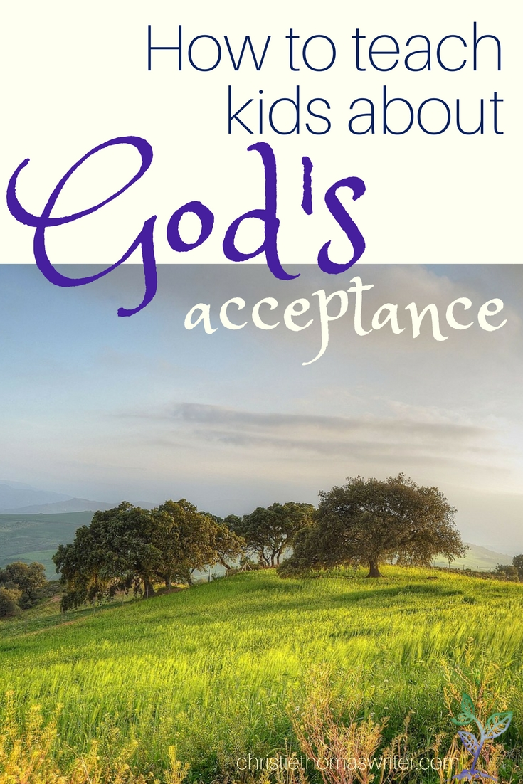 When you want to teach your kids about God's love, use this short ritual and this book