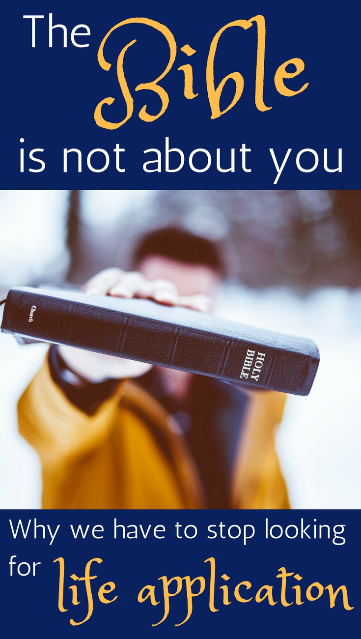 The biggest question we need to ask when we read the Bible #biblestudy