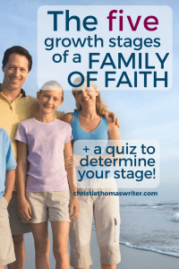 Living the Christian life is not easy, particularly when you want spiritual growth for your whole family. 5 stages of raising Godly children. #Christianparenting #familydiscipleship #godlykids