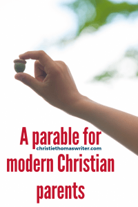 A Christian parable and a faith path for the modern Christian parent who wants to focus more on family discipleship. #Christianparenting #familydiscipleship