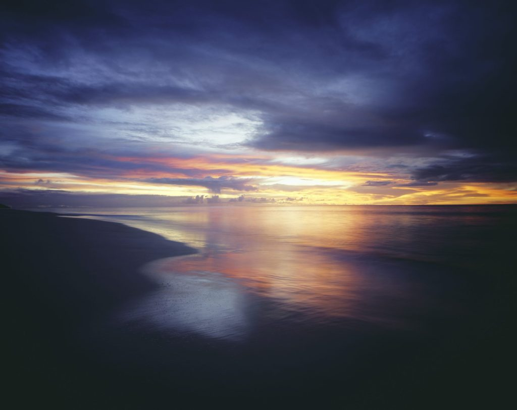 what we can learn about God from his creation: sunsets