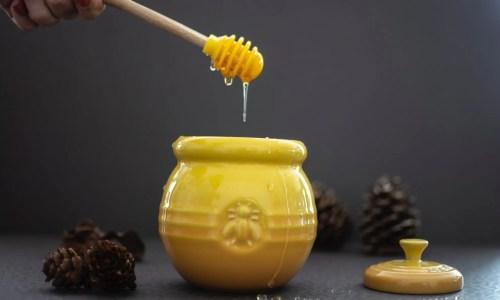 use honey for the sense of taste!