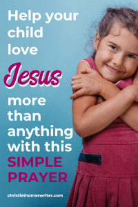 """Teaching kids how to love God with your whole heart is easier than you thought! With this contemplative prayer example, your little contemplative child will learn to love Jesus more than anything. Also includes a review of Rick Warren's picture book """"God's Great Love For You"""" to help explain God's love to a child. #sacredpathwaysforkids #Christianparenting #kidlit"""