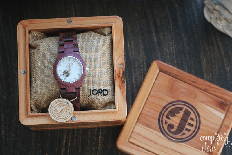Jord women's watch Cora Purpleheart