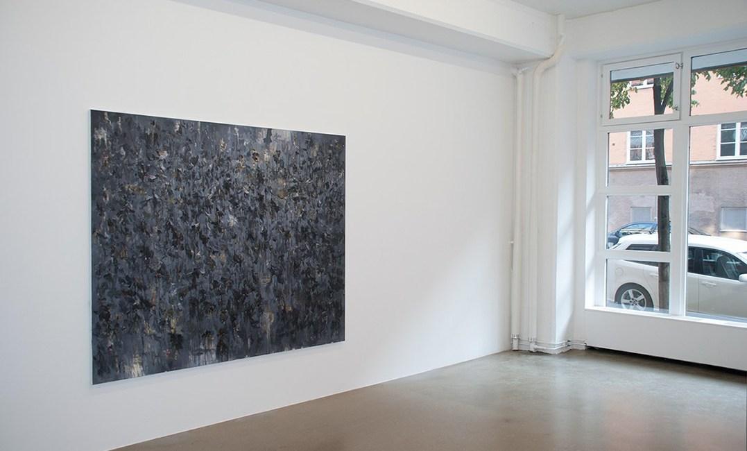 Christina Ekstrand - Installation view - Transition, 2014
