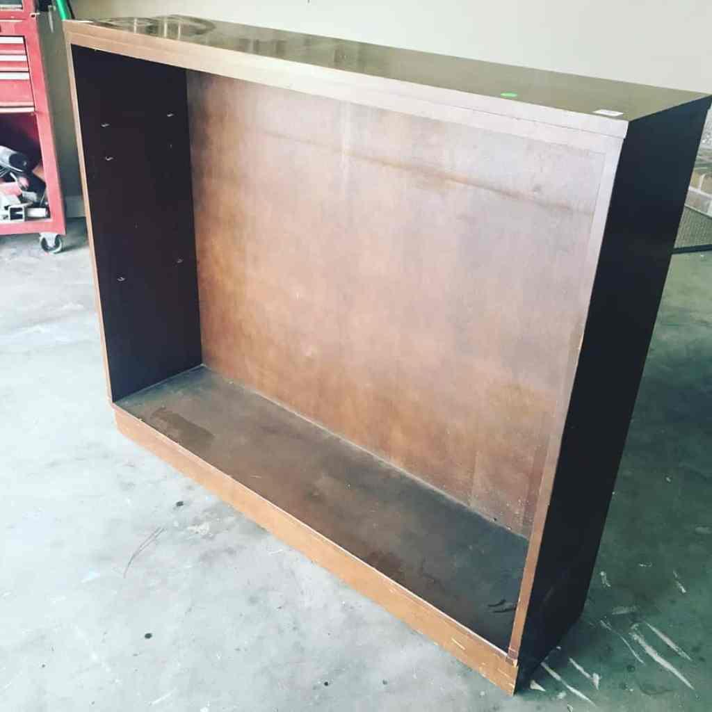 Repurposed Curb Side Bookcase