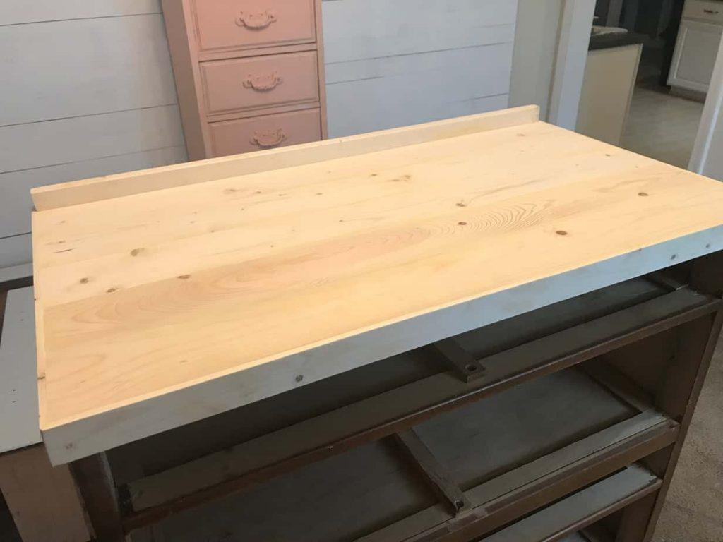 New Wood Top