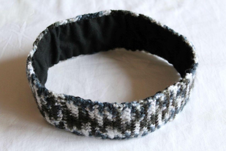 gehäckeltes Stirnband