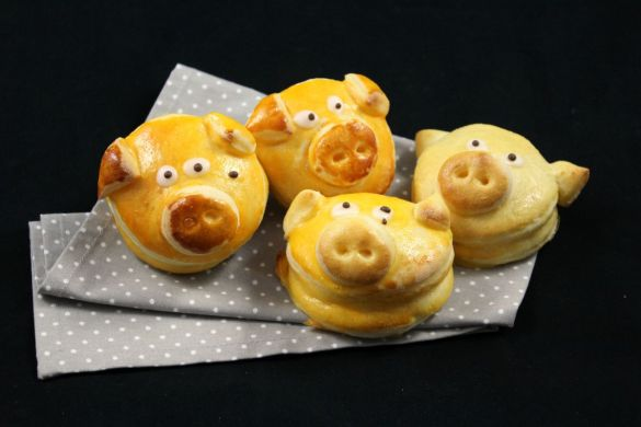 Germteigschweine Silvester