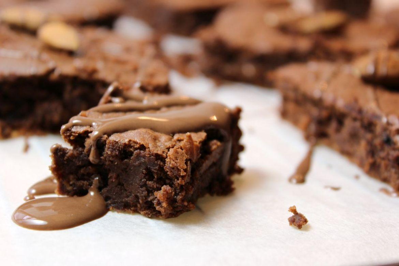 Schoko Brownie aus Bohnen Rezept