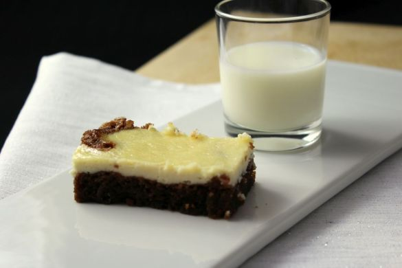 Cheesecake-Brownie Rezept