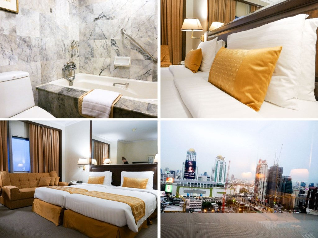 Arnoma Grand Hotel Bangkok Superior Zimmer