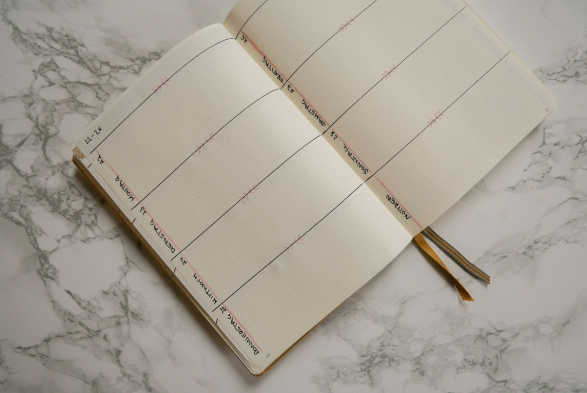 Januar Bullet Journal Setup