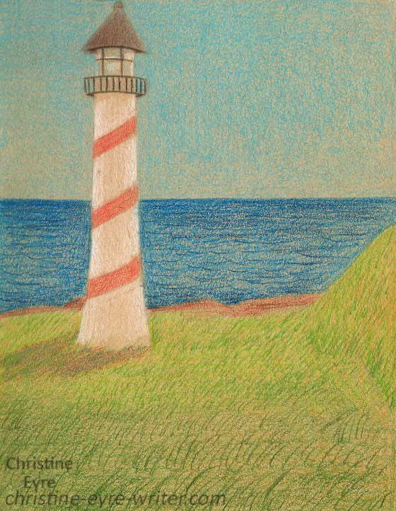 43-Lighthouse in pencil