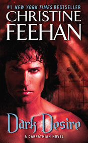 Dark Desire in paperback by Christine Feehan