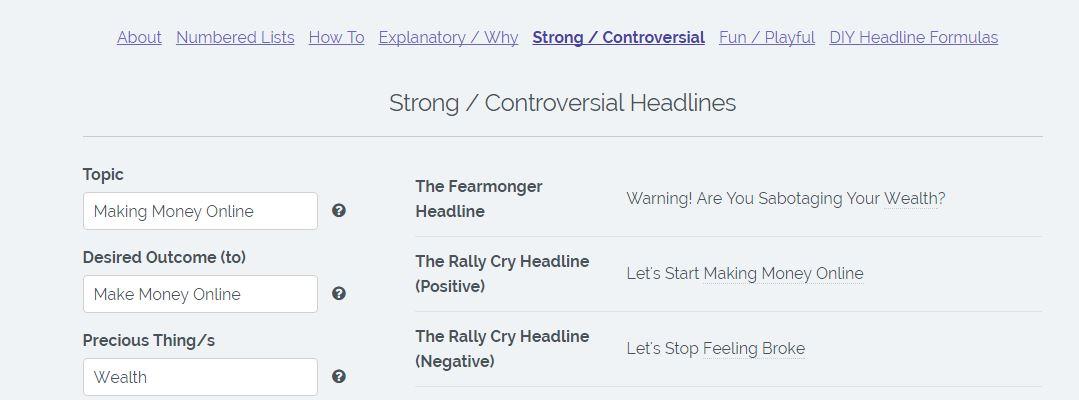 headline-templates
