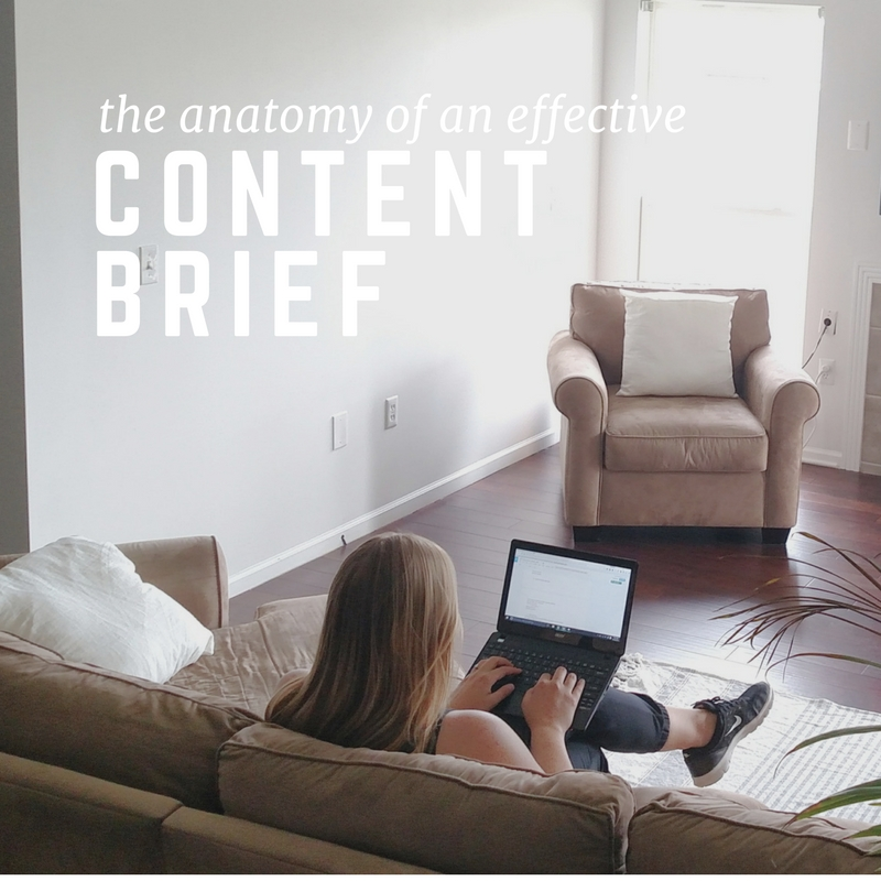 The Anatomy of an Effective Content Brief