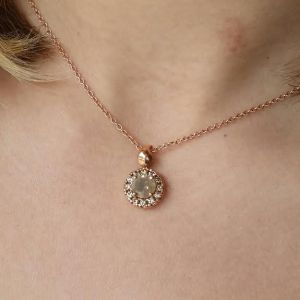 cai cramer 1 rose gold necklace