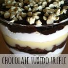 Chocolate Tuxedo Trifle