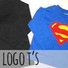 DIY Super Hero Logo T's