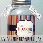 How to use the Thankful Jar