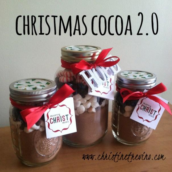 Christmas Cocoa {2.0 + printables}