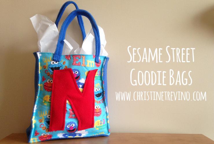 Sesame Street Goodie Bags