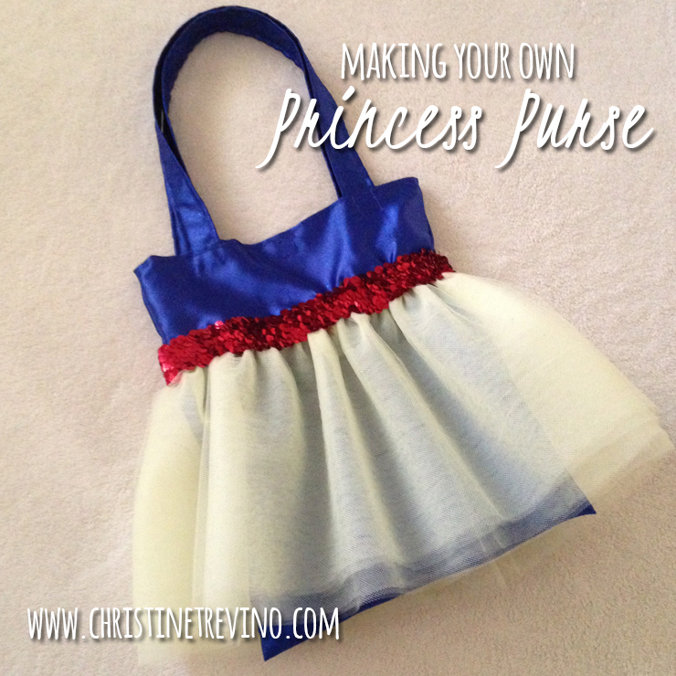 Making Your Own Princess Purse