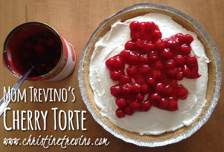 Mom Trevino's Cherry Torte