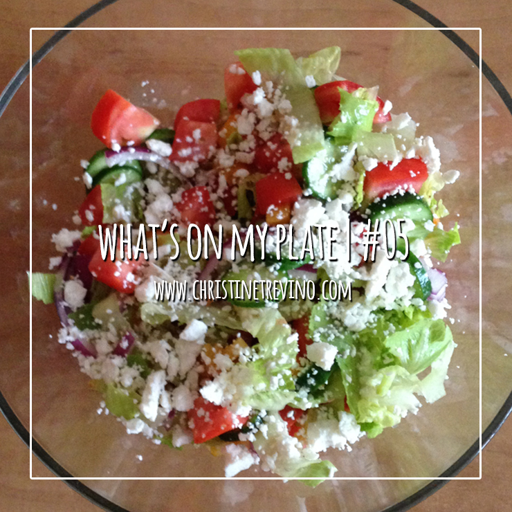 What's on my Plate   #05