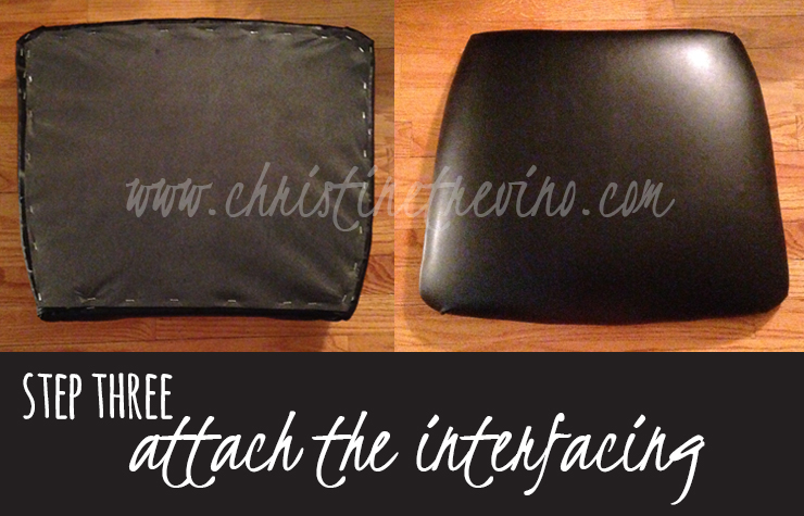 Step 3 | Attach the interfacing