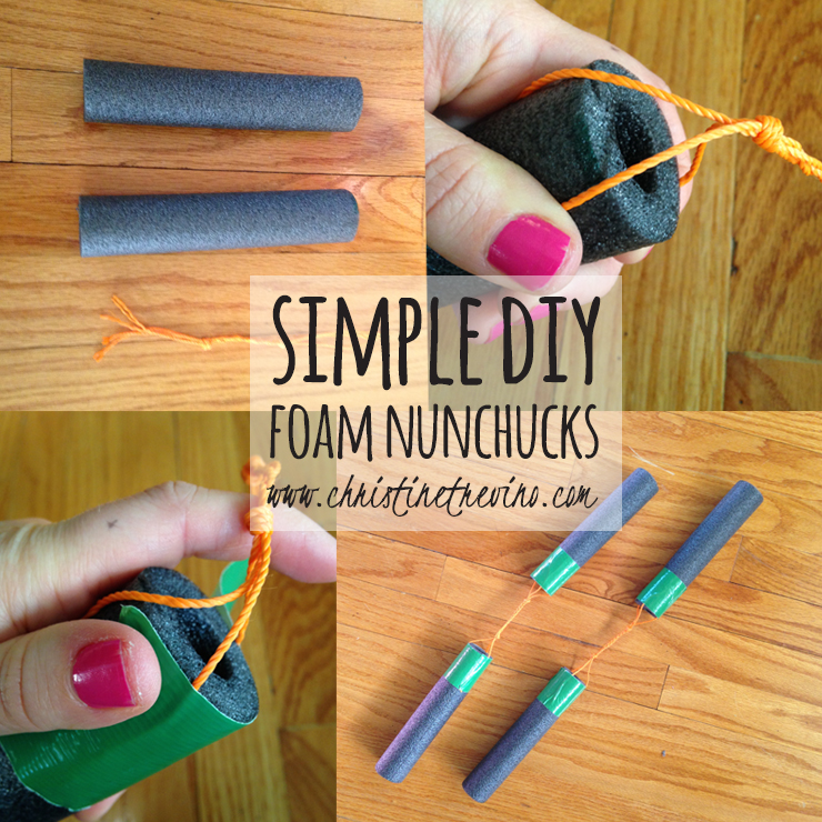 DIY Foam Nunchucks