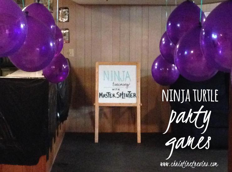 Ninja Turtle Party Games | Nunchuck Tournament
