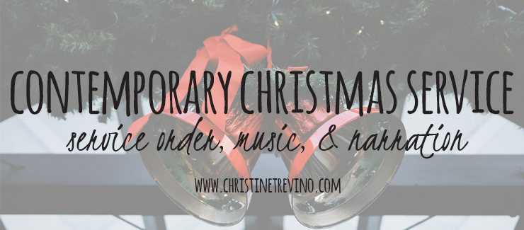 Contemporary Christmas Service (Music & Narration)