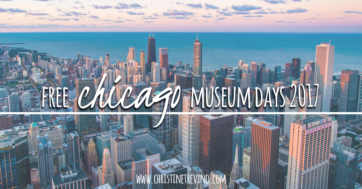 FREE Chicago Museum Days 2017