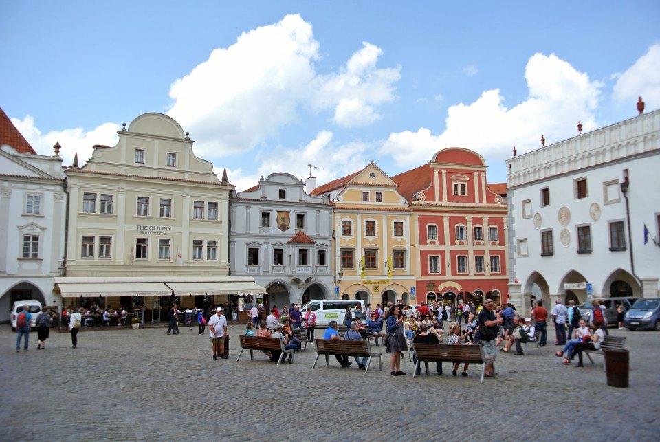 Hauptplatz Český Krumlov